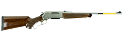 "Browning 034017116 BLR White Gold Medallion Lever 7mm-08 Remington 20"" 4+1 Walnut Grade IV/V Stock Blued Barrel/Nickel Receiver"