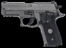 """Sig Sauer E29R9LEGION P229 Legion DA/SA 9mm 3.9"""" 15+1 Blk G10 Grip Gray"""