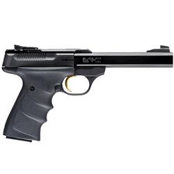 "Browning 051407490 Buck Mark Standard URX *CA Compliant* Single 22 Long Rifle (LR) 5.5"" 10+1 Black Ultragrip RX Grip Blued"