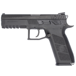 "CZ 91620 P-09 Full Size DA/SA 9mm 19+1 4.53"" Poly Grip/Frame Black"
