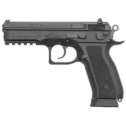 "CZ 91258 SP-01 Phantom Single/Double 9mm 4.6"" 18+1 Black Interchangeable Backstrap Grip Black"