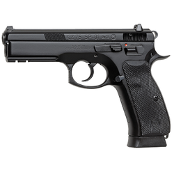"CZ 01152 CZ-75 SP-01 9mm 4.7"" 10+1 w/Rail Rubber Grip Black Finish"