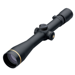 Leupold 111238 VX-R 4-12x 40mm Obj 21.5-10 ft @ 100 yds FOV 30mm Tube Black Matte Illuminated FireDot Duplex