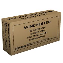 Winchester SG9W 9MM 115 FMJ 50/10