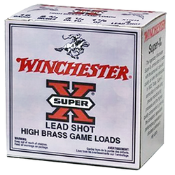 "Winchester Ammo X28H6 Super-X High Brass Game 28 Gauge 2.75"" 1 oz 6 Shot 25 Bx/ 10"