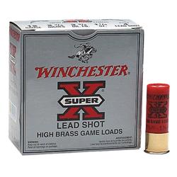 """Winchester Ammo X127 Super-X High Brass Game 12 Gauge 2.75"""" 1-1/4 oz 7.5 Shot 25 Bx/ 10 Cs"""
