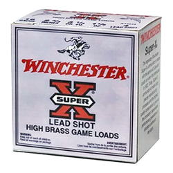 "Winchester Ammo X16H6 Super-X High Brass Game 16 Gauge 2.75"" 1-1/8 oz 6 Shot 25 Bx/ 10 Cs"