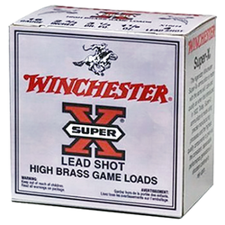 "Winchester Ammo X28H5 Super-X High Brass Game 28 Gauge 2.75"" 1 oz 5 Shot 25 Bx/ 10 Cs"
