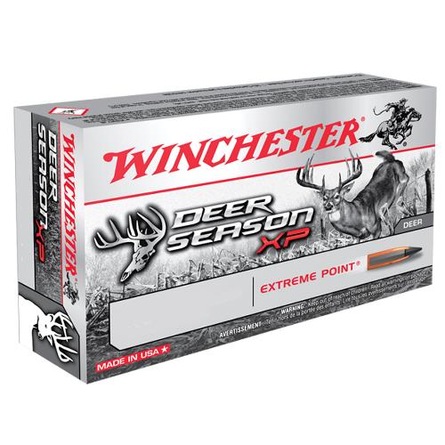 Winchester Ammo X450DS Deer Season XP 450 Bushmaster 250 GR Extreme Point 20 Bx/ 10 Cs