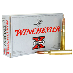 Winchester Ammo X2704 Super-X 270 Winchester 150 GR Power-Point 20 Bx/10 Cs