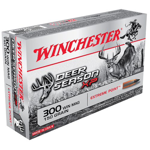 Winchester Ammo X300DS Deer Season XP 300 Winchester Magnum 150 GR Extreme Point 20 Bx/ 10 Cs