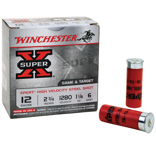 "Winchester Ammo WE28GT6 Expert 28 Gauge 2.75"" 5/8 oz 6 Shot 25 Bx/ 10 Cs"