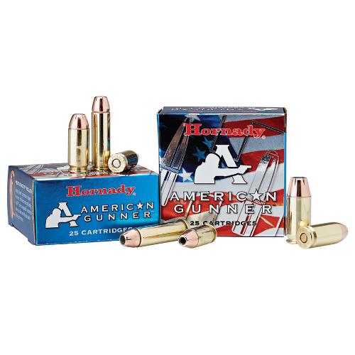 Hornady 90244 American Gunner 9mm Luger 115 GR XTP Hollow Point 25 Bx/ 10 Cs