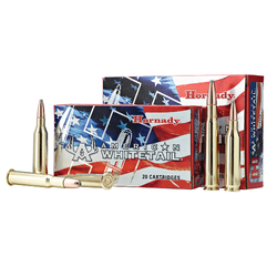 Hornady 80904 American Whitetail 308 Winchester/7.62 NATO 165 GR InterLock 20 Bx/ 10 Cs