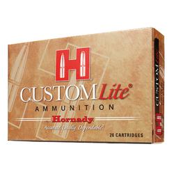 Hornady 80806 Custom Lite 30-30 Winchester 150 GR Round Nose 20 Bx/ 10 Cs