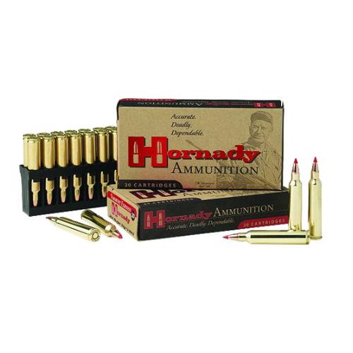 Hornady 83202 Varmint Express 22 Winchester Magnum Rimfire (WMR) 30 GR V-Max 50 Bx/ 40 Cs
