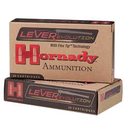 Hornady 82730 LEVERevolution 30-30 Winchester 160 GR Flex Tip Expanding 20 Bx/ 10 Cs