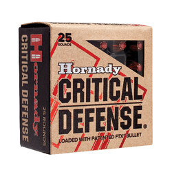 Hornady 81030 Critical Defense 30 Carbine 110 GR Flex Tip Expanding 25 Bx/ 10 Cs