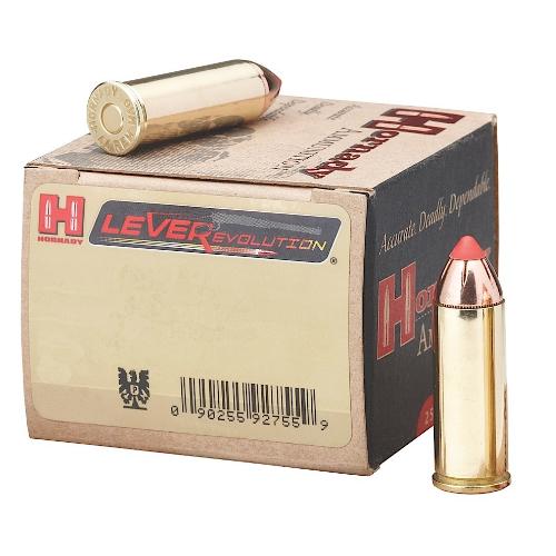 Hornady 92782 LEVERevolution 44 Remington Magnum 225 GR Flex Tip Expanding 20 Bx/ 10 Cs