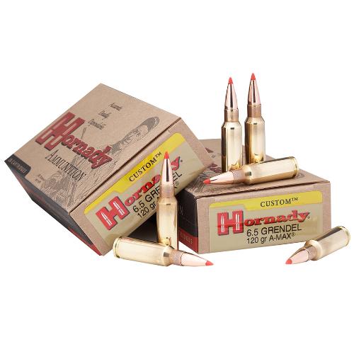 Hornady 8152 Custom 6.5mm Grendel 123 GR SST 20 Bx/ 10 Cs