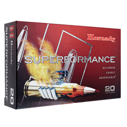 Hornady 81496 Superformance 6.5 Creedmoor 129 GR SST 20 Bx/ 10 Cs
