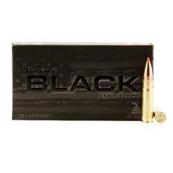 Hornady 80873 Black 300 AAC Blackout/Whisper (7.62x35mm) 110 GR V-Max 20 Bx/ 10 Cs