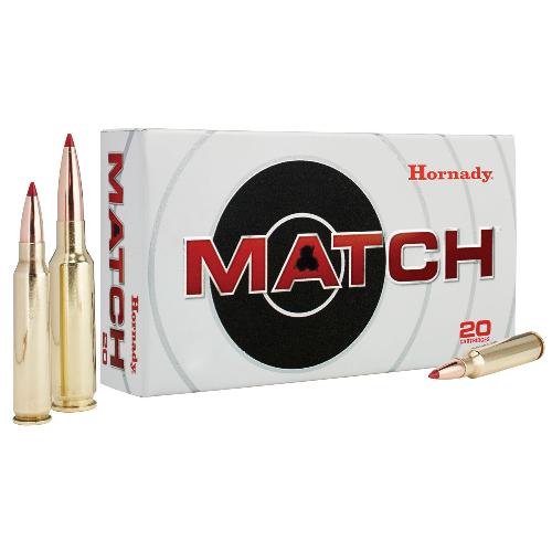 Hornady 80966 Match 308 Winchester/7.62 NATO 168 GR ELD-Match 20 Bx/ 10 Cs