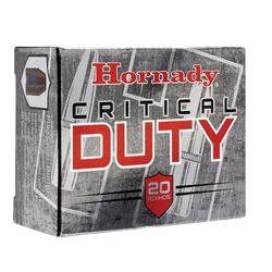 Hornady 91256 Critical Duty 10mm 175 GR Critical Duty 20 Bx / 10 Cs
