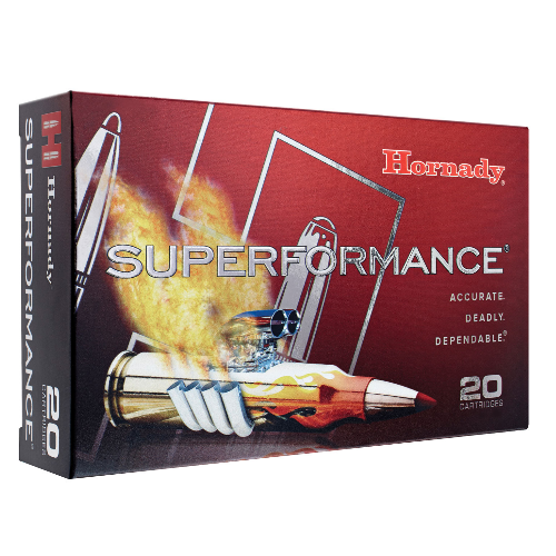 Hornady 82231 Superformance 300 Ruger Compact Magnum 150 GR SST 20 Bx/ 10 Cs