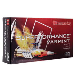 Hornady 83206 Superformance Varmint 204 Ruger 40 GR V-Max 20 Bx/ 10 Cs