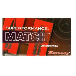Hornady 80963 Superformance Match 308 Win/7.62 NATO 168 GR ELD-Match 20 Bx/ 10 Cs