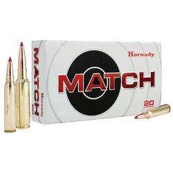 Hornady 81391 Match 6mm Creedmoor 108 GR ELD-Match 20 Bx/ 10 Cs