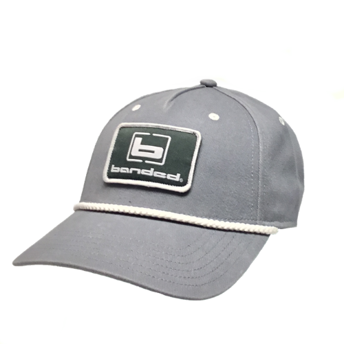 Banded Captain's Cap Grey