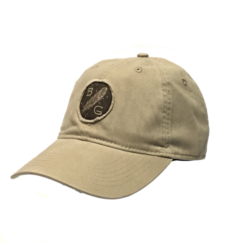Banded Feather Patch Relaxed Cap