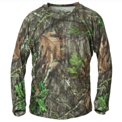Banded Tech Stalker Mock Shirt