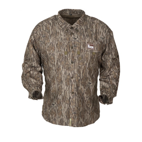 Banded Lightweight Vented Shirt