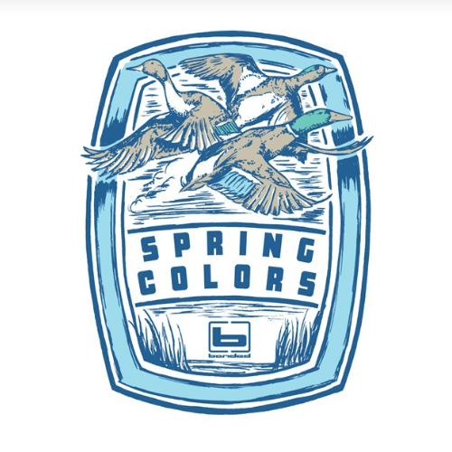 Banded Spring-Colors S/S Tee