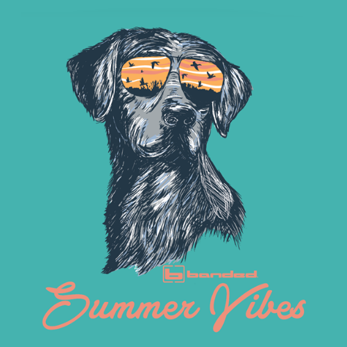 Banded Summer Vibes Women S/S Tee