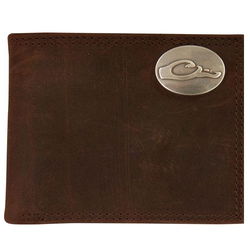 Drake Leather Bi-Fold Wallet