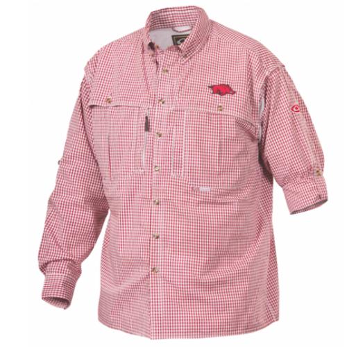 Drake Arkansas Plaid Wingshooter's Shirt Long Sleeve