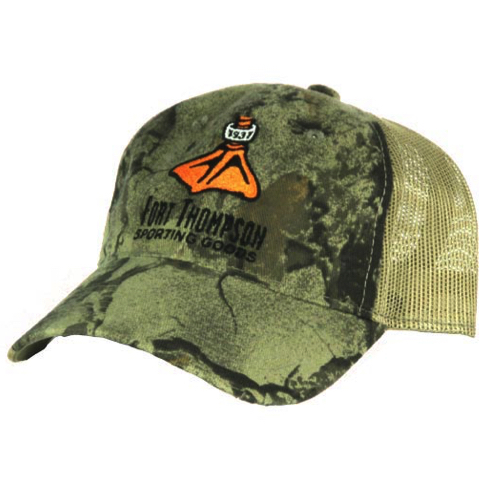 Fort Thompson Duck Foot Natural Gear Hat