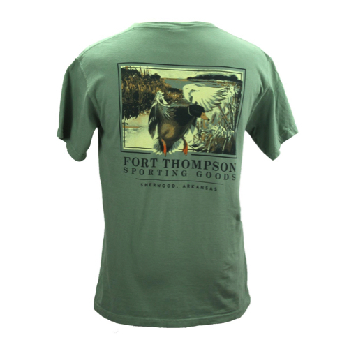 Fort Thompson Duck Landing Tee