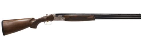 """Beretta USA J6863J6 686 Over/Under 12 Gauge 26"""" 3"""" Walnut Stk Engraved Silver Rcvr/Blued"""