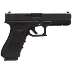 "Glock PG1750203 G17 Gen4 9mm 4.48"" 17+1 FS Modular Backstrap Blk"
