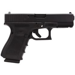 "Glock PG1950203 G19 Gen 4 9mm 4.01"" 15+1 FS Modular Backstrap Blk"