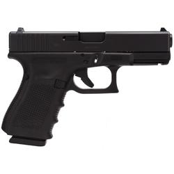 "Glock PG2350203 G23 Gen 4 40S&W 4.02"" 13+1 FS Modular Backstrap Black"