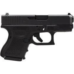 """Glock PG2750201 G27 Gen 4 40S&W 3.46"""" 9+1 FS Modular Backstrap Blk"""