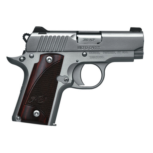 Kimber Micro Stainless Rosewood 380 ACP Carry Conceal Pistol 3300103