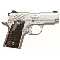 Kimber Micro 9 Stainless 9mm Luger with Rosewood Grips 3300158