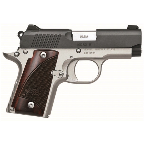 Kimber Micro 9 Two-Tone 9mm with Rosewood Grips 3300099